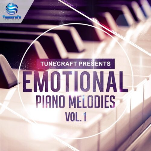 Emotional Piano Melodies 1000x1000_cover