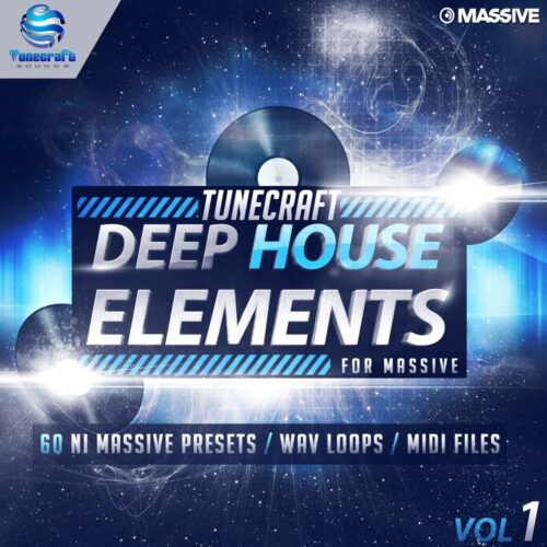 Tunecraft Deep House Elements for Massive Vol 1 1000x1000_cover