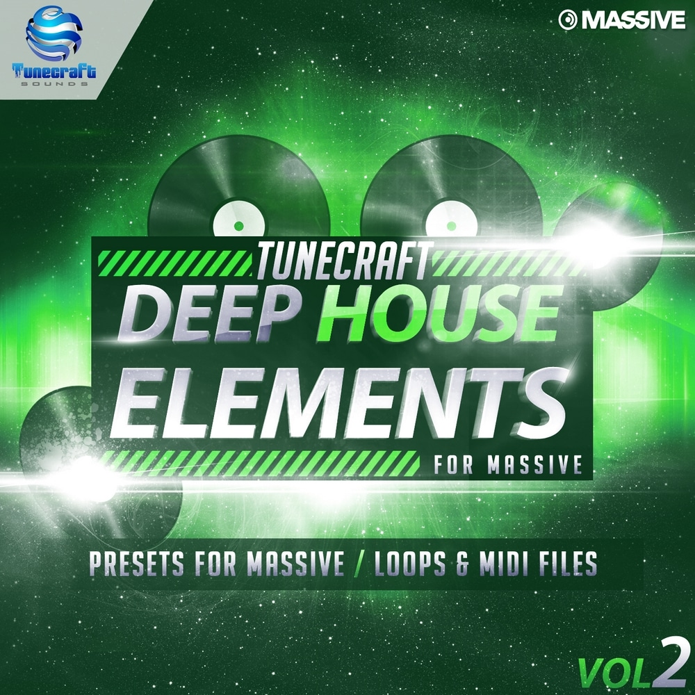 Tunecraft Deep House Elements for Massive Vol 2 1000x1000_cover