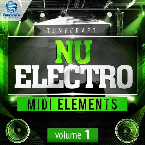 Tunecraft Nu Electro Midi Elements Vol 1_cover