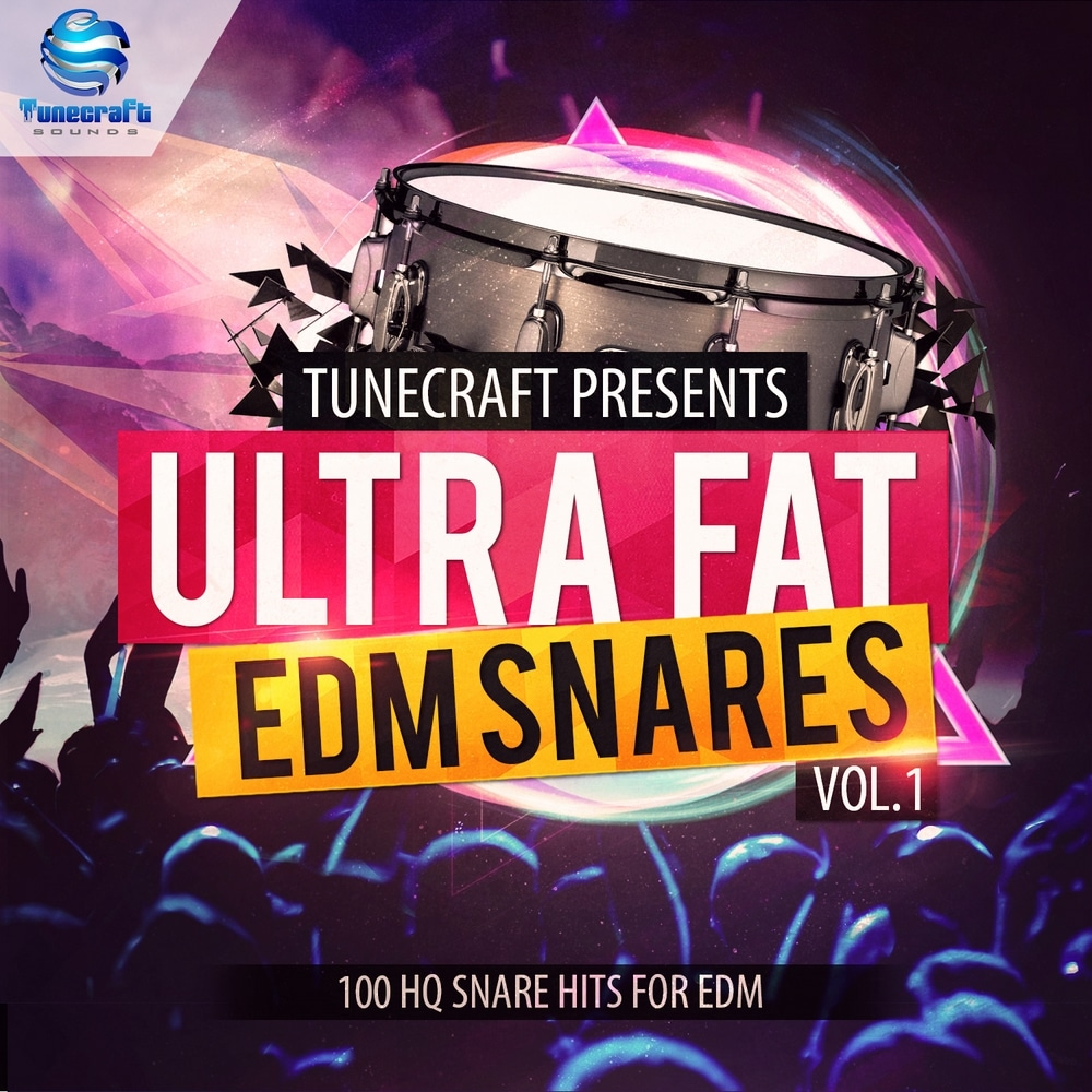 Ultra Fat EDM Snares Vol 1 1000x1000_cover