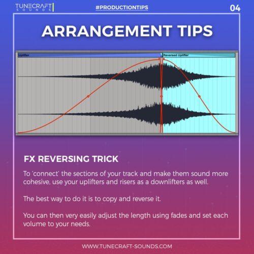 Production Tip 4: Arrangement