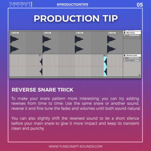 Production Tip 5