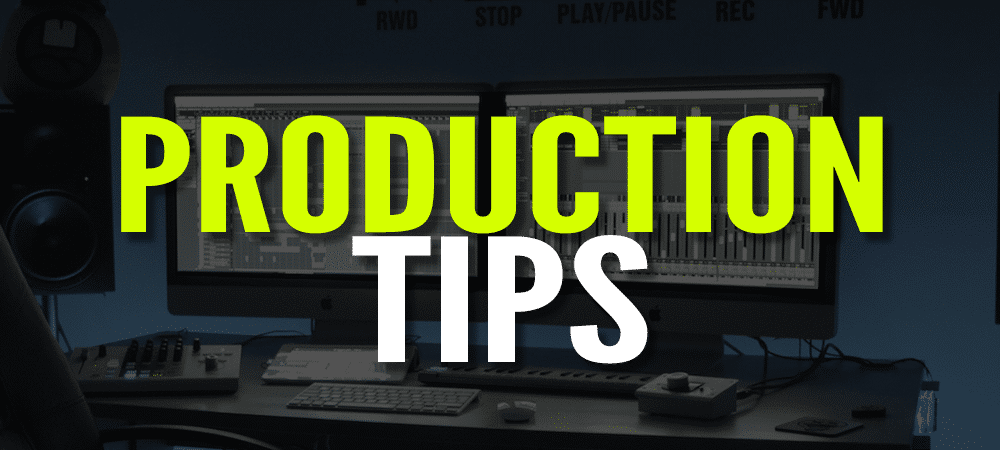 Production Tip serie banner