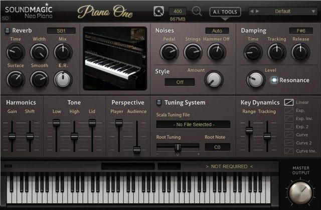 Sound Magic Piano One