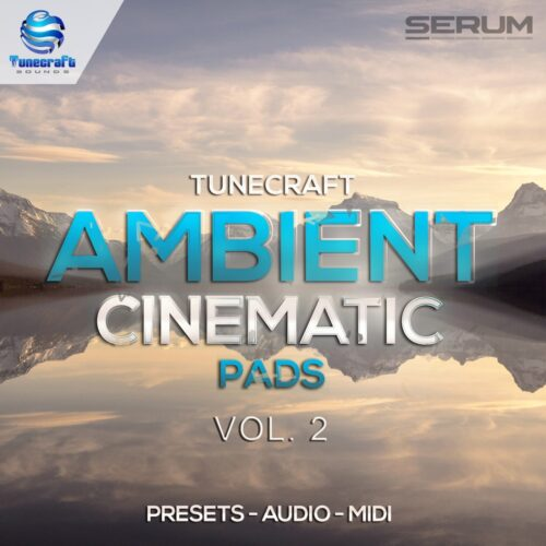 Tunecraft Ambient Cinematic Pads Vol2 Cover 1000x1000